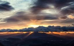Beautiful Sunrise Mac wallpaper