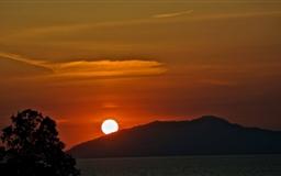 Sunset In Capri Mac wallpaper