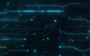 Abstract Circuit Board Mac wallpaper