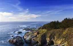 Sea panoramic view Mac wallpaper