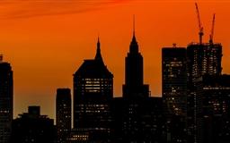 Manhattan Buildings Mac wallpaper