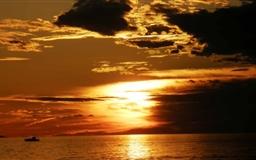 Sunset Zadar Croatia Mac wallpaper
