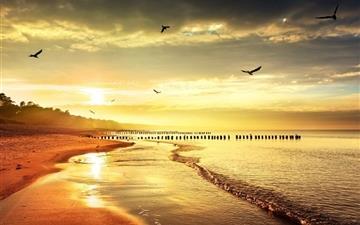 Spectacular sunsets Mac wallpaper