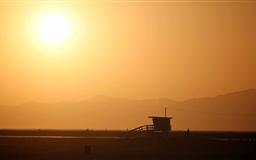 California Sunset Mac wallpaper