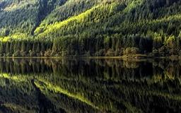 Reflections On Loch Chon Mac wallpaper
