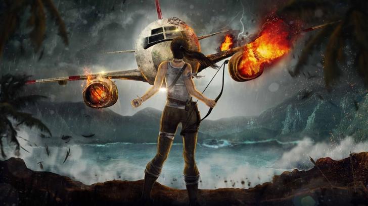 Tomb Raider Mac Wallpaper