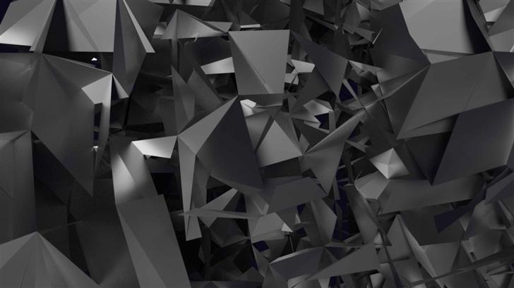 Geometric Shapes Art Mac Wallpaper