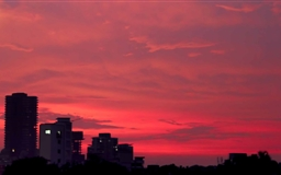 Romantic Sunset Mac wallpaper