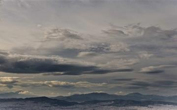 Greece Panorama Mac wallpaper