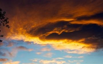 Simple Sunset Mac wallpaper