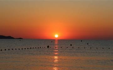 Sun Rising Mac wallpaper