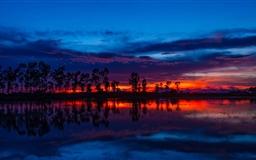 The Sunset  Mac wallpaper