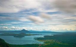 Taal Volcano Island Mac wallpaper