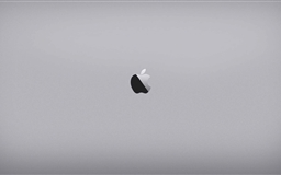 Apple Space Grey Mac wallpaper