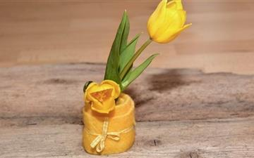 Yellow Tulips Mac wallpaper
