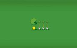 Green Dots Mac wallpaper