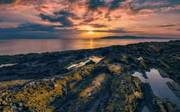 Portencross Scotland Mac wallpaper