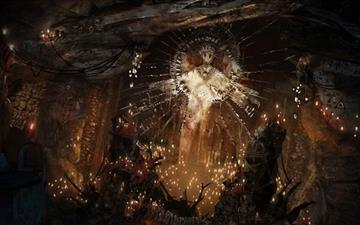 Tomb Raider Sacrifice Altar Mac wallpaper