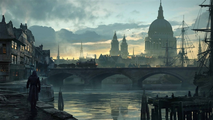 Assassins Creed Syndicate City Mac Wallpaper
