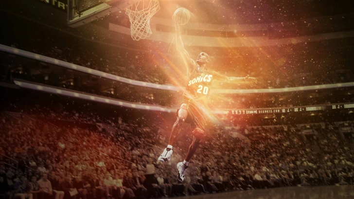 Gary Payton Legend Mac Wallpaper