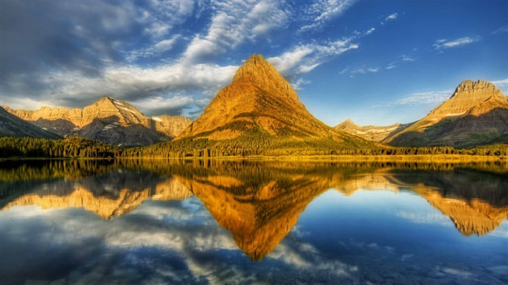 Glacier National Park Landscape Mac Wallpaper