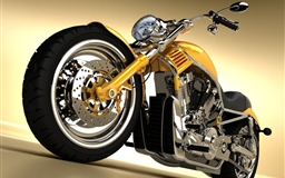 Gorgeous Yellow Chopper Mac wallpaper
