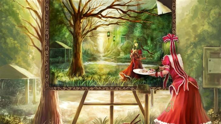 Hina Kagiyama Mac Wallpaper