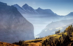Mountain Ridge Autumn Mac wallpaper