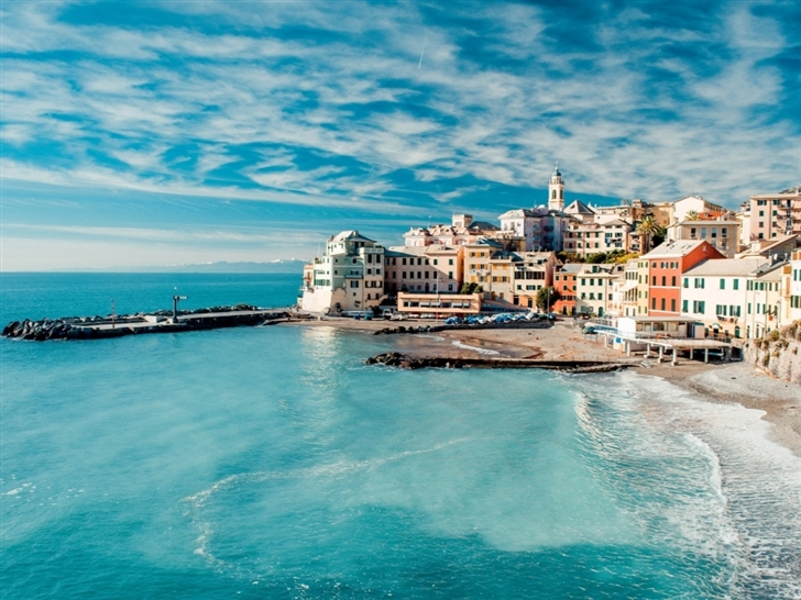 The Cinque Terre View Mac Wallpaper