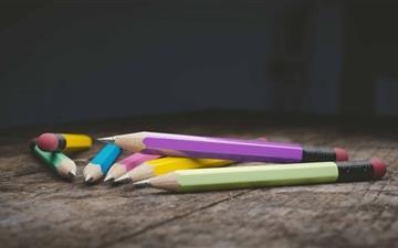 The Pencils Mac wallpaper