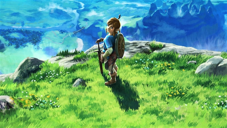 The Legend Of Zelda Breath Mac Wallpaper