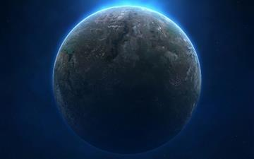 Planet Ball Terrestrial Mac wallpaper