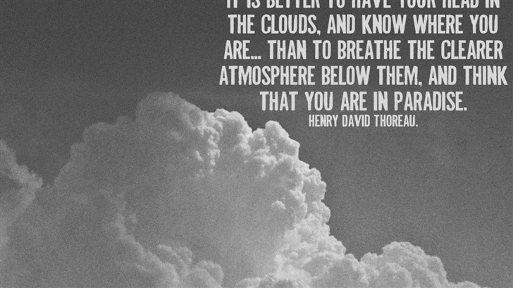 Clouds In The Sky Mac Wallpaper
