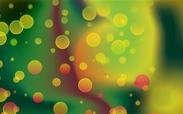 Colorful Circles Mac wallpaper