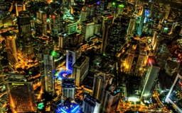 Kuala Lumpur At Night Malaysia Mac wallpaper