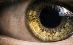 Mysterious Eye Mac wallpaper