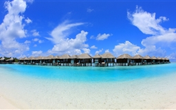 Overwater Bungalows Mac wallpaper