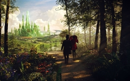 Oz The Great And Powerful Emerald City Mac wallpaper