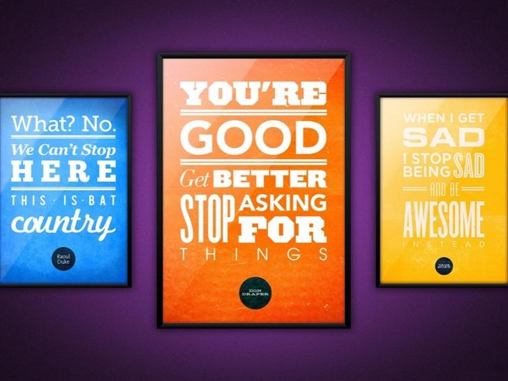 The quotes Mac Wallpaper