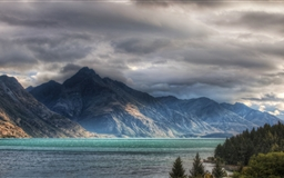 Wakatipu Lake In Queenstown Mac wallpaper