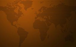 World Map Stripes Mac wallpaper