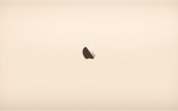 Apple Gold Mac wallpaper