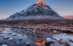 Buachaille Etive Mor Mountain Mac wallpaper