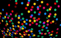 Colorful Stars Bokeh Mac wallpaper