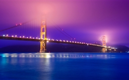 Golden Gate Fog Mac wallpaper