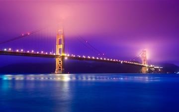 Golden Gate Fog Mac wallpaper