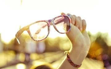 Summer Sunglasses Mac wallpaper