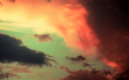 Colorful Clouds Mac wallpaper