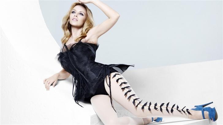 Kylie Minogue Hot Mac Wallpaper