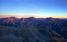 Sunrise On The High Country Mac wallpaper
